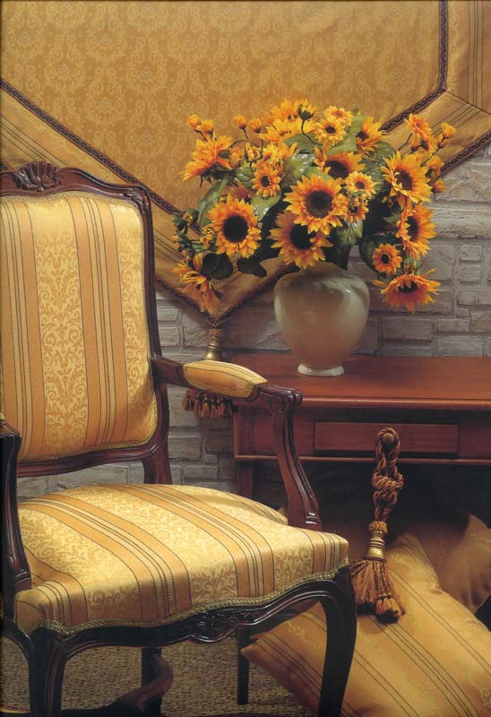 Ткань София- фото в интерьере