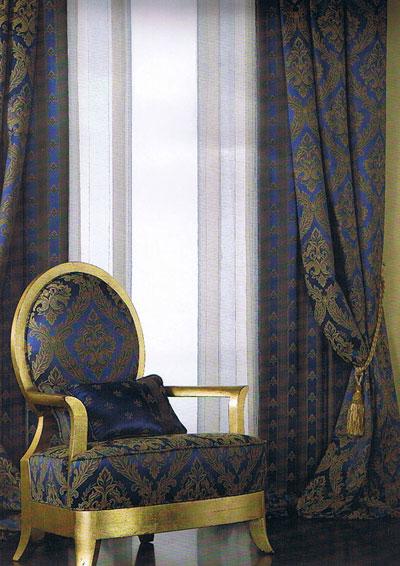 Ткань Империо- фото в интерьере